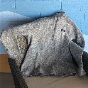 Patagonia Better Sweater gray women's